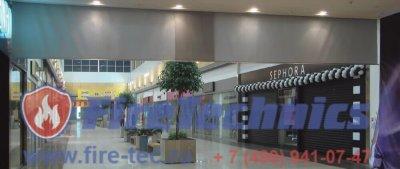 Противодымные шторы Е120